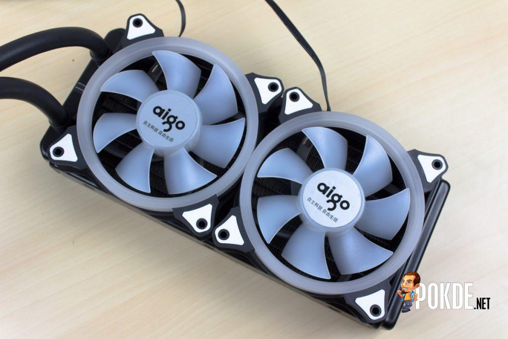 Aigo Serac T240 AIO Liquid Cooler Review - Bigger radiator, better heat dissipation 25