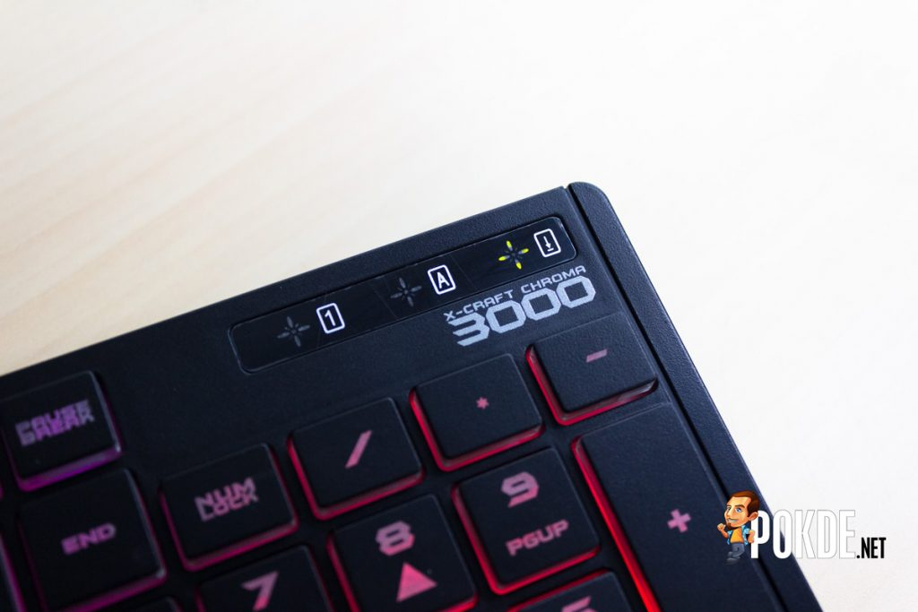 Alcatroz X-Craft Chroma 3000 keyboard review — Better than nothing 31