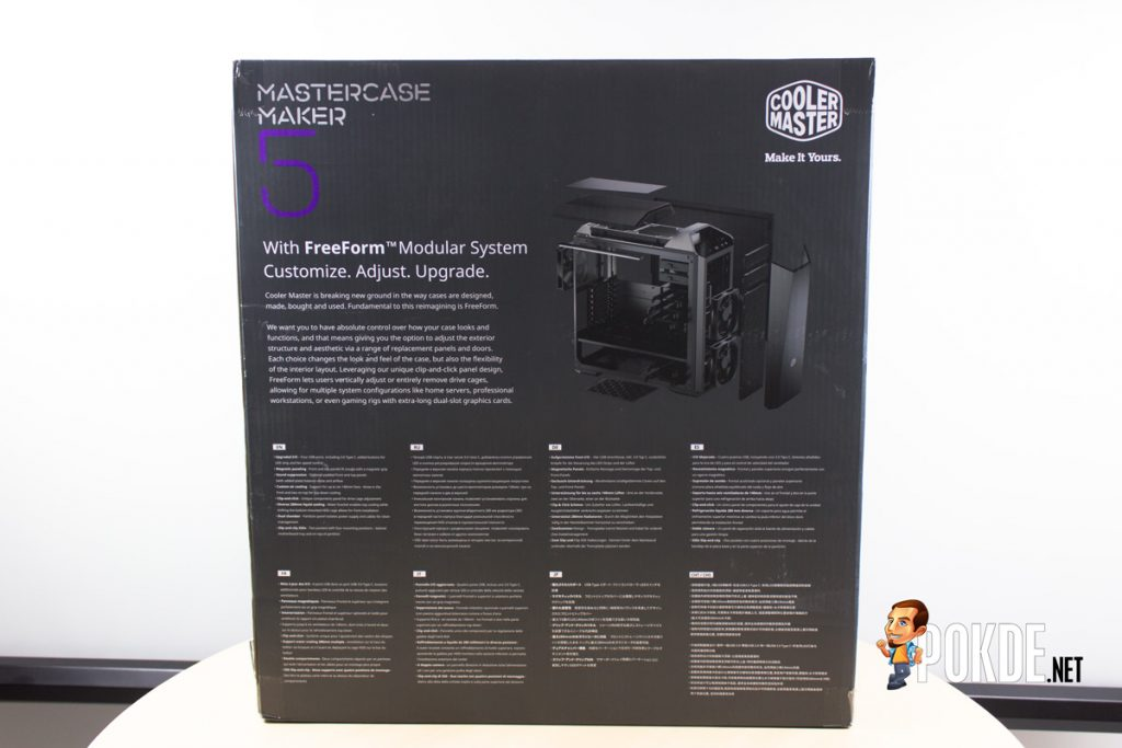 MasterCase Maker 5 by Cooler Master case review — decked out 26