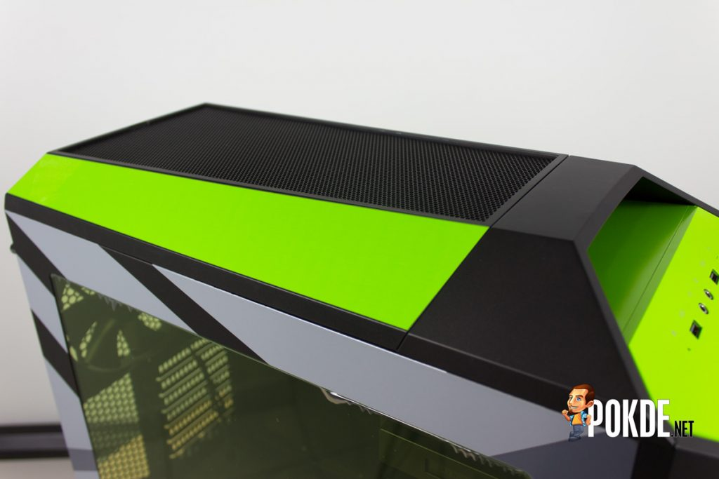 MasterCase Pro 5 NVIDIA Edition by Cooler Master case review — Make them turn green with envy 34