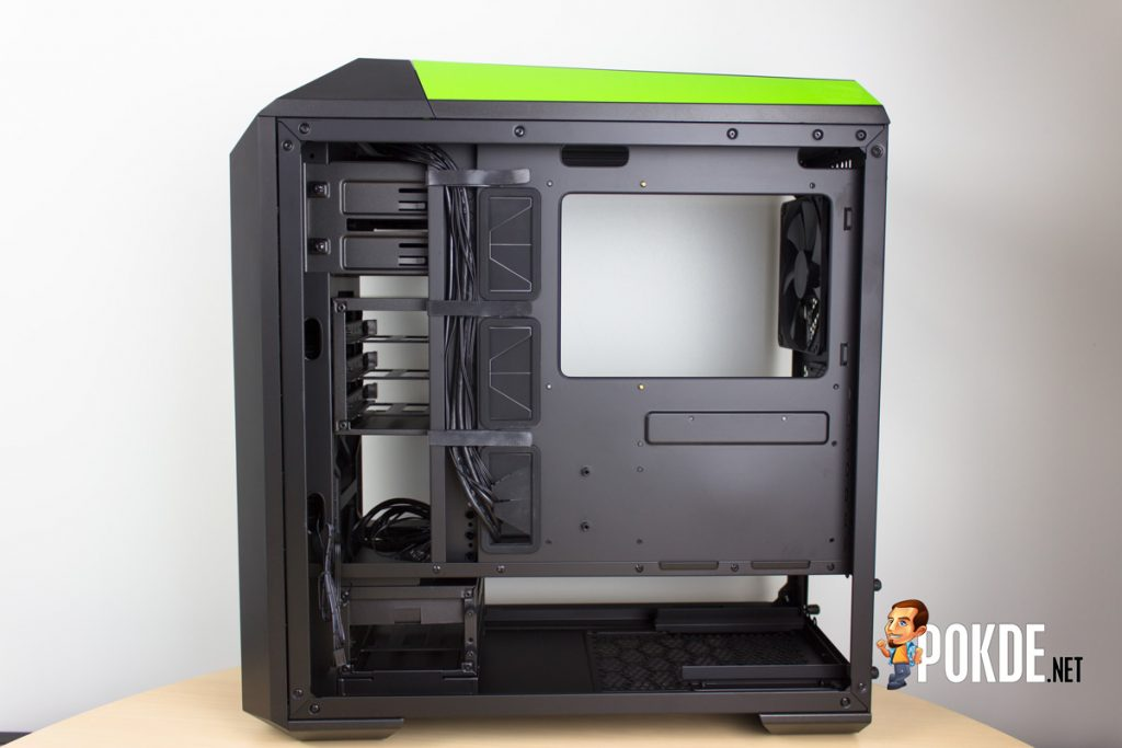 MasterCase Pro 5 NVIDIA Edition by Cooler Master case review — Make them turn green with envy 40