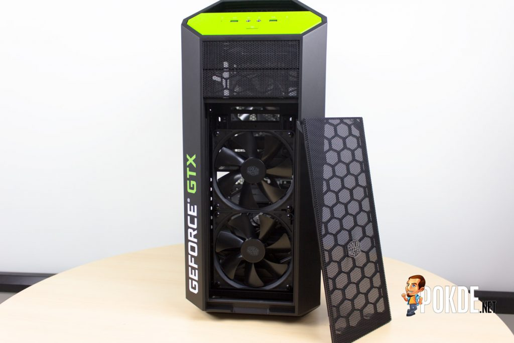 MasterCase Pro 5 NVIDIA Edition by Cooler Master case review — Make them turn green with envy 31