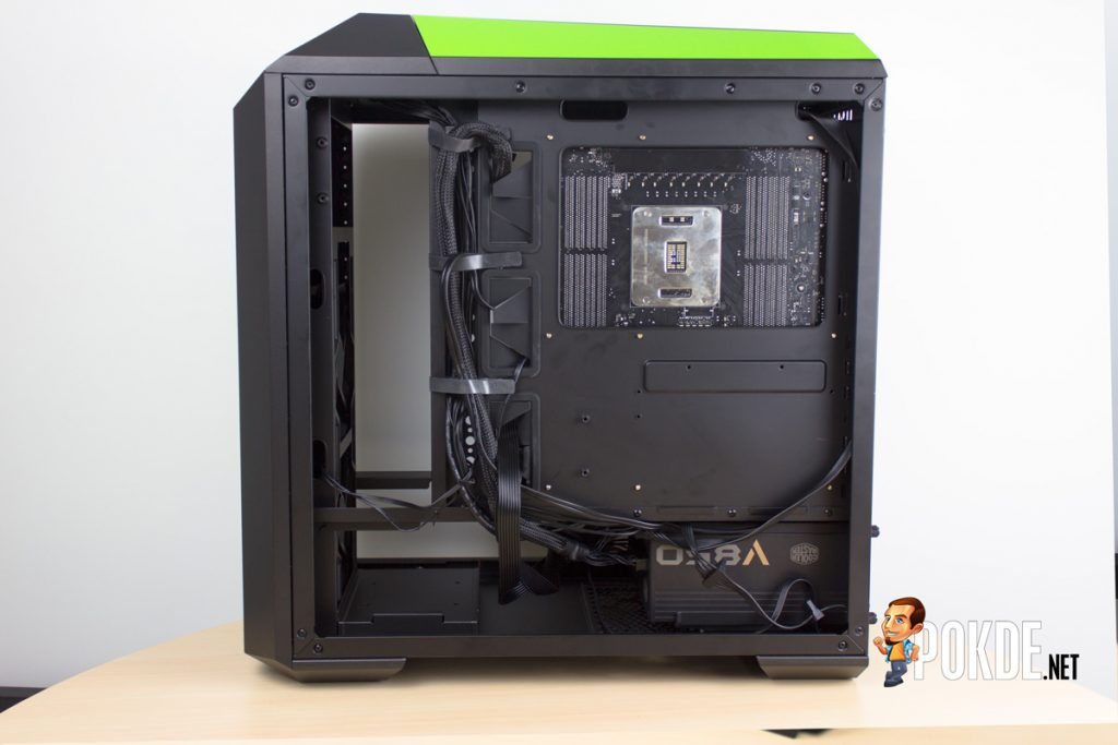 MasterCase Pro 5 NVIDIA Edition by Cooler Master case review — Make them turn green with envy 43