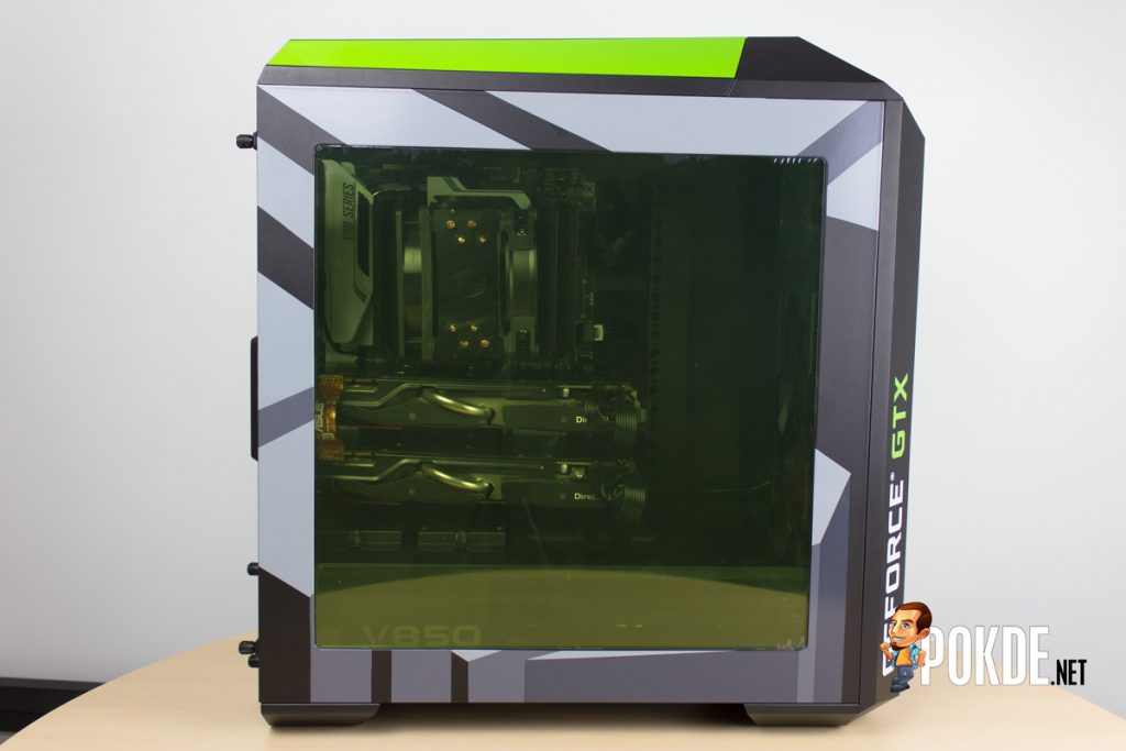 MasterCase Pro 5 NVIDIA Edition by Cooler Master case review — Make them turn green with envy 45