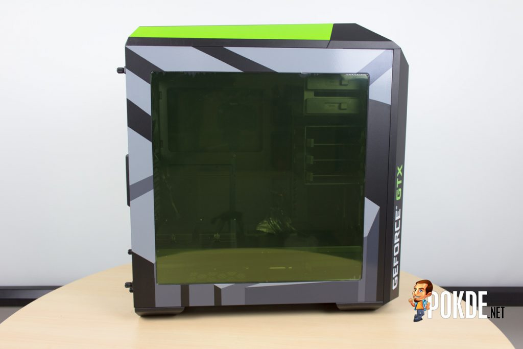 MasterCase Pro 5 NVIDIA Edition by Cooler Master case review — Make them turn green with envy 28