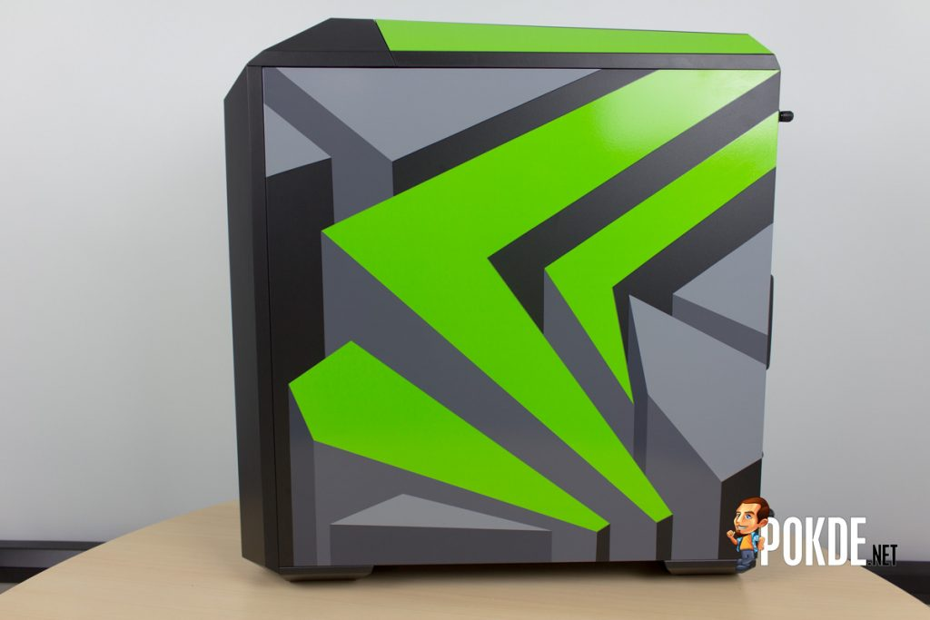 MasterCase Pro 5 NVIDIA Edition by Cooler Master case review — Make them turn green with envy 32
