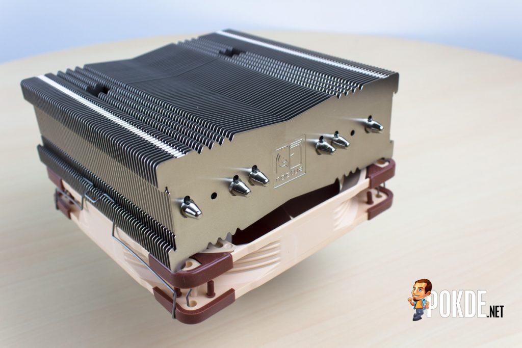Noctua NH-C14S Low Profile Cooler Review - It's burger time 33
