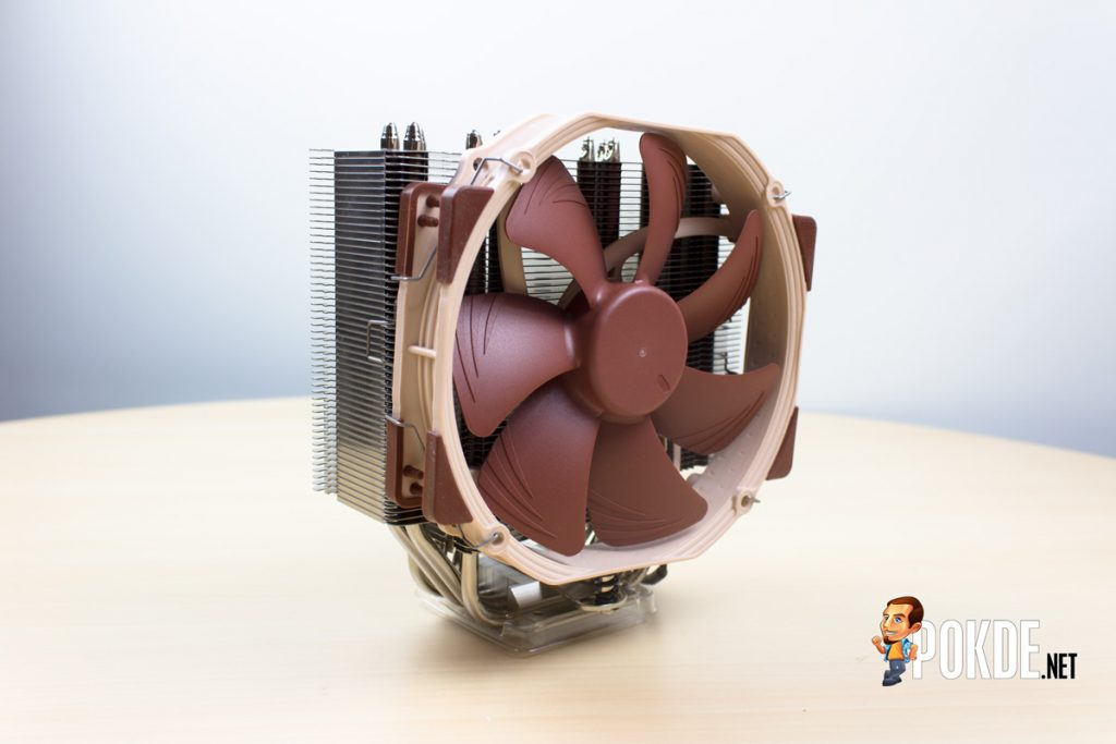 Noctua NH-U14S single tower cooler review — more memory clearance 34