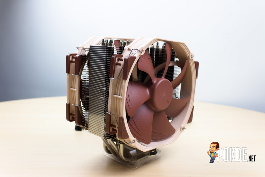 Noctua NH-U14S single tower cooler review — more memory clearance 44