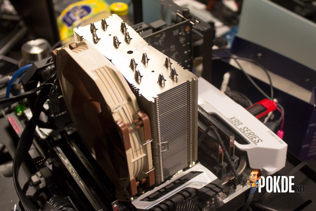 Noctua NH-U14S single tower cooler review — more memory clearance 42