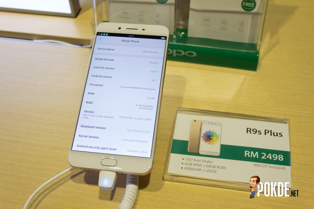 OPPO R9s Plus launched, larger screen priced at RM 2498 – Min Chen not included 27