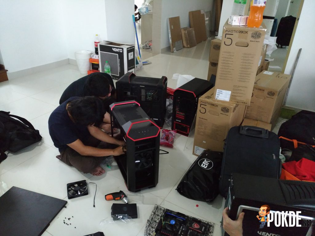 Setting up WG.Unity's Gaming PCs — In collaboration with Cooler Master Malaysia, Tech Critter and ModnGo 28