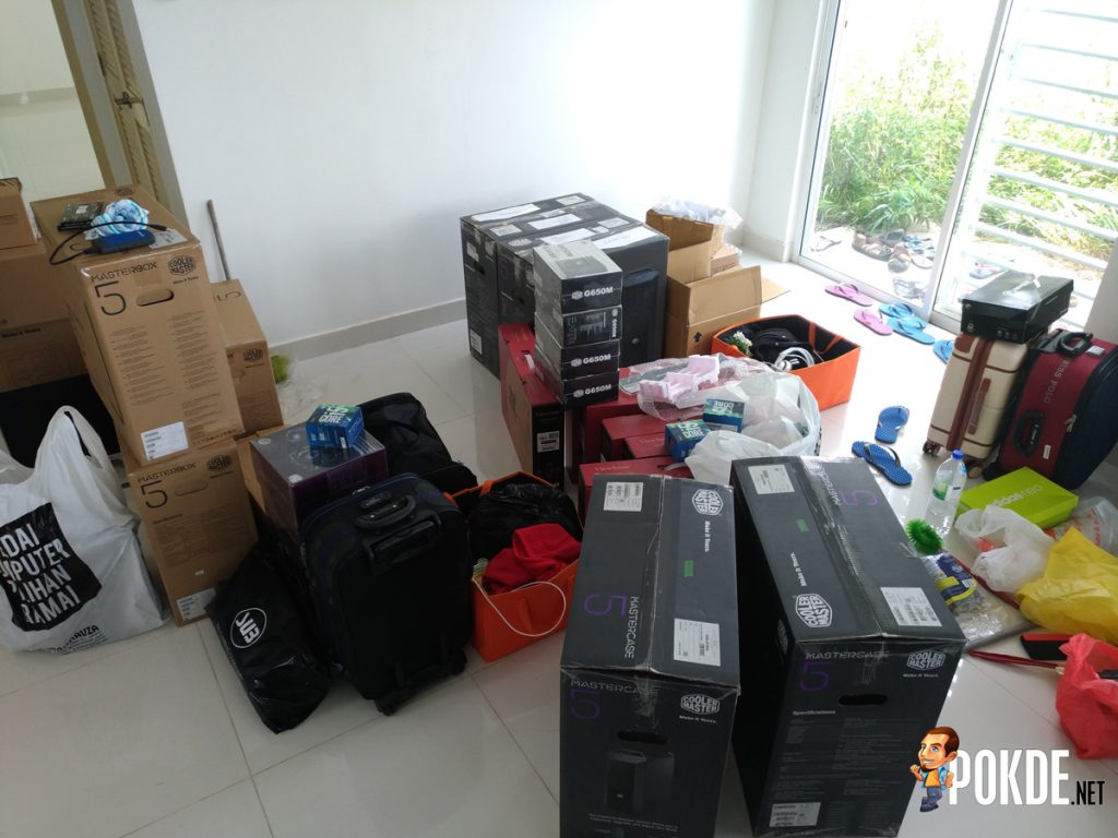 Setting up WG.Unity's Gaming PCs — In collaboration with Cooler Master Malaysia, Tech Critter and ModnGo 27