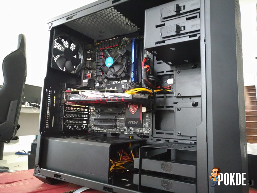 Setting up WG.Unity's Gaming PCs — In collaboration with Cooler Master Malaysia, Tech Critter and ModnGo 32