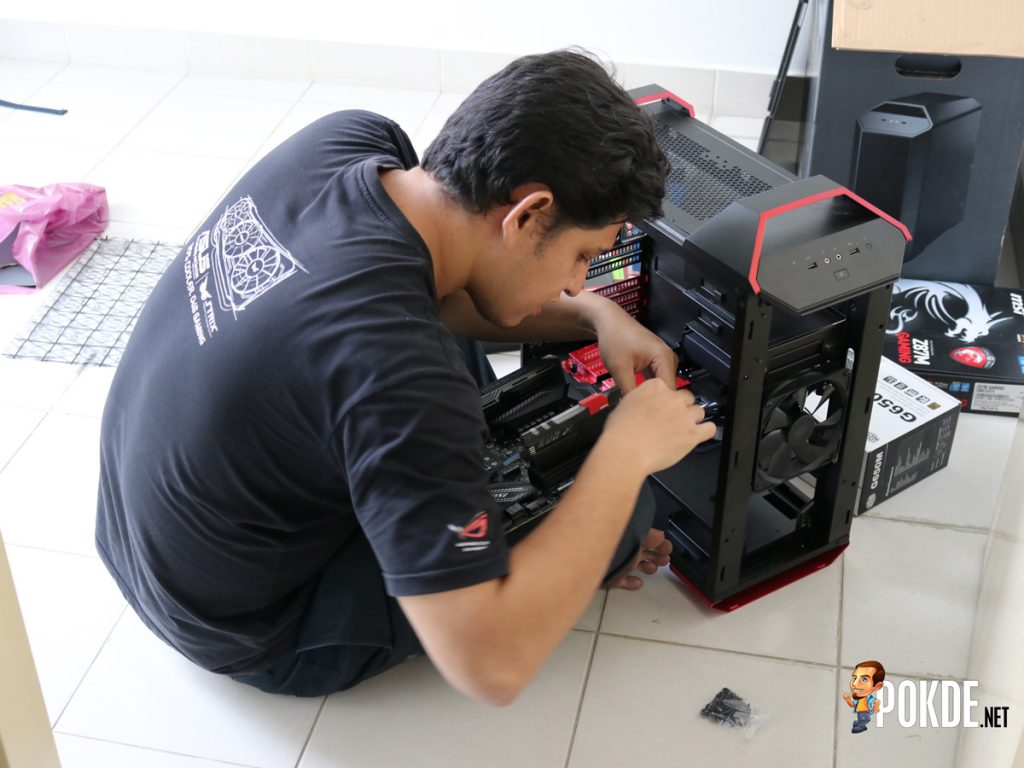 Setting up WG.Unity's Gaming PCs — In collaboration with Cooler Master Malaysia, Tech Critter and ModnGo 25