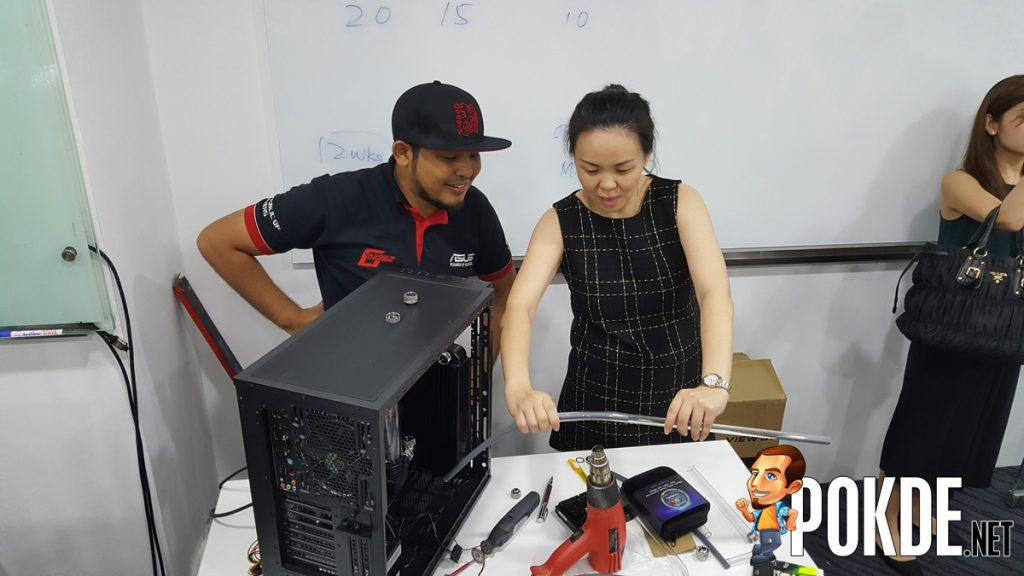 ASUS organized Liquid Cooling workshop for dealers - Bringing the custom liquid cooling to the mainstream 24