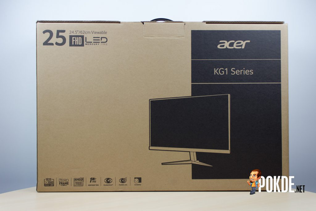Acer KG251Q monitor review — FreeSync for cheap 23