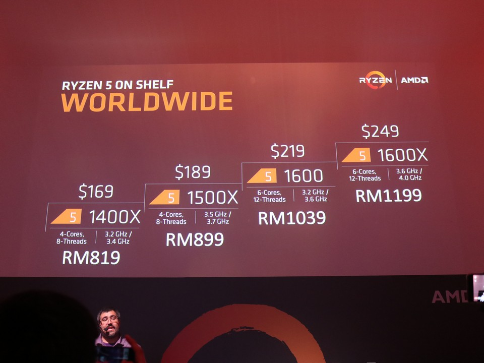AMD Officially Launches AMD Ryzen in Malaysia; Also Shared About the RX500 Series Lineup 34