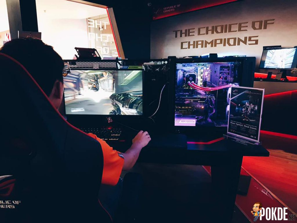 Experience the 240Hz ASUS ROG Swift PG258Q monitor at ROG Brightstar Concept Store, the One and Only Unit showcased in KL! 20