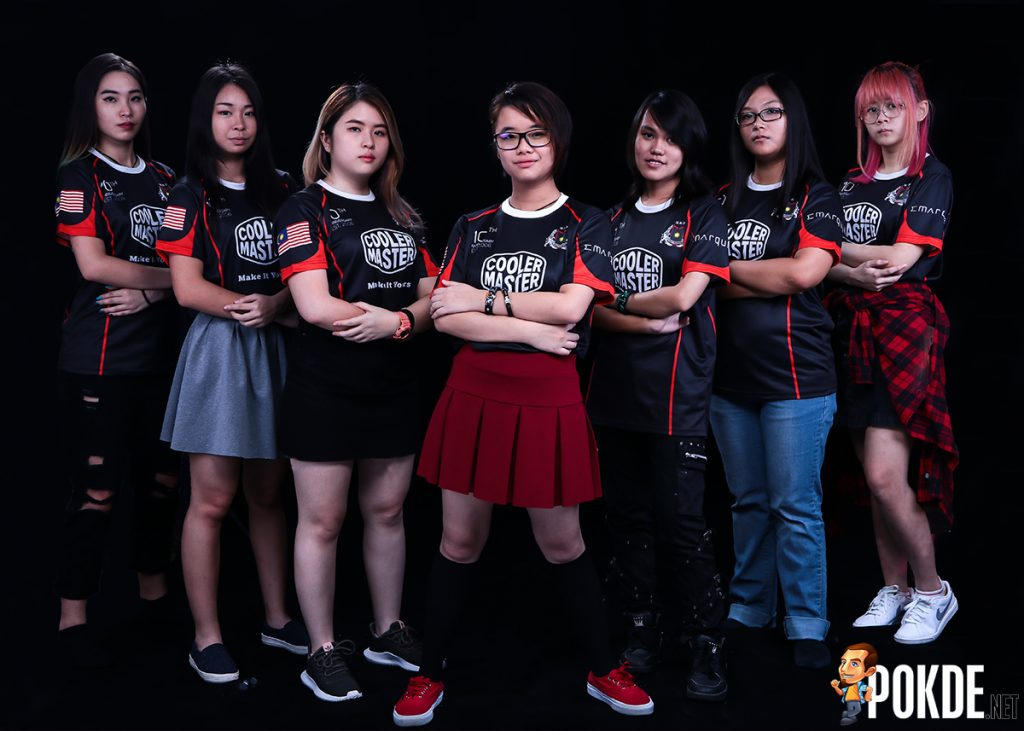 Cooler Master celebrates formation of Team MBT.Valkyrie; Malaysia's First All-Female Overwatch Team! 23