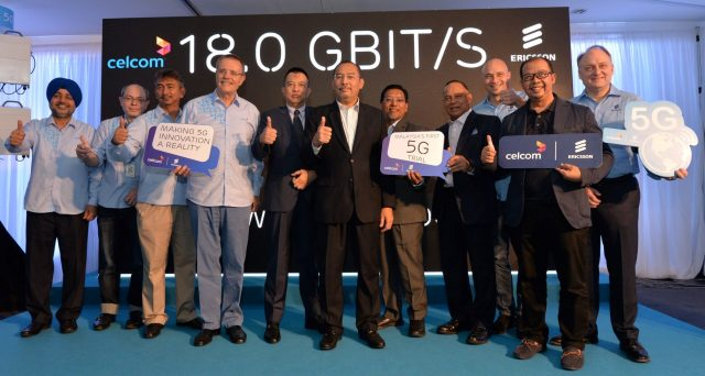 Celcom Conducts First 5G Trial in Collaboration with Ericsson 25