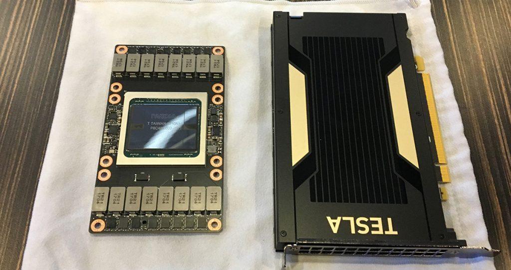 NVIDIA Tesla V100 unveiled; 12nm FinFET, 5120 CUDA cores 23