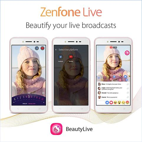Stream Live and Beautifully with ASUS ZenFone Live! 28