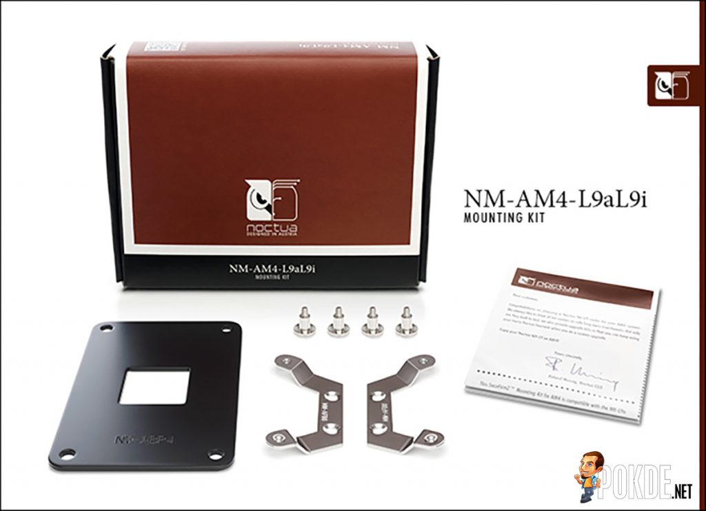 Noctua NH-L9a and NH-L9i coolers to get free AM4 upgrade kits 21
