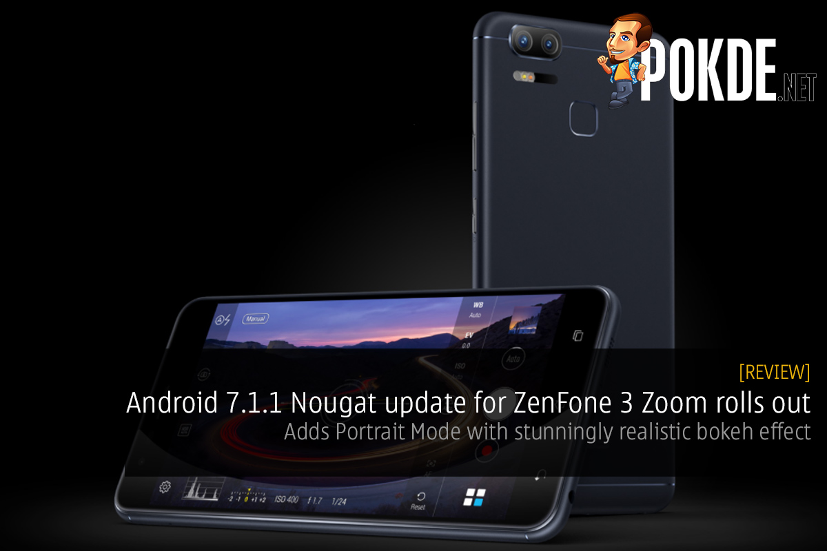android 7 1 1 nougat update for zenfone 3 zoom rolls out. Black Bedroom Furniture Sets. Home Design Ideas