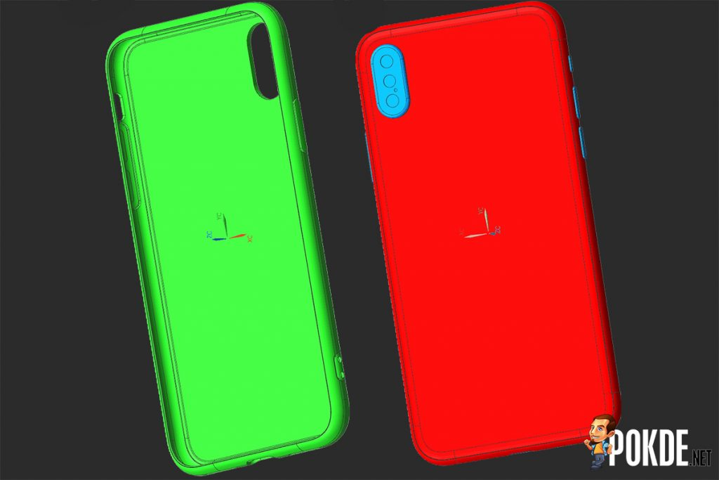 Leaked renders of iPhone 8 case confirms vertical dual-camera system; fingerprint sensor under display is possible 24