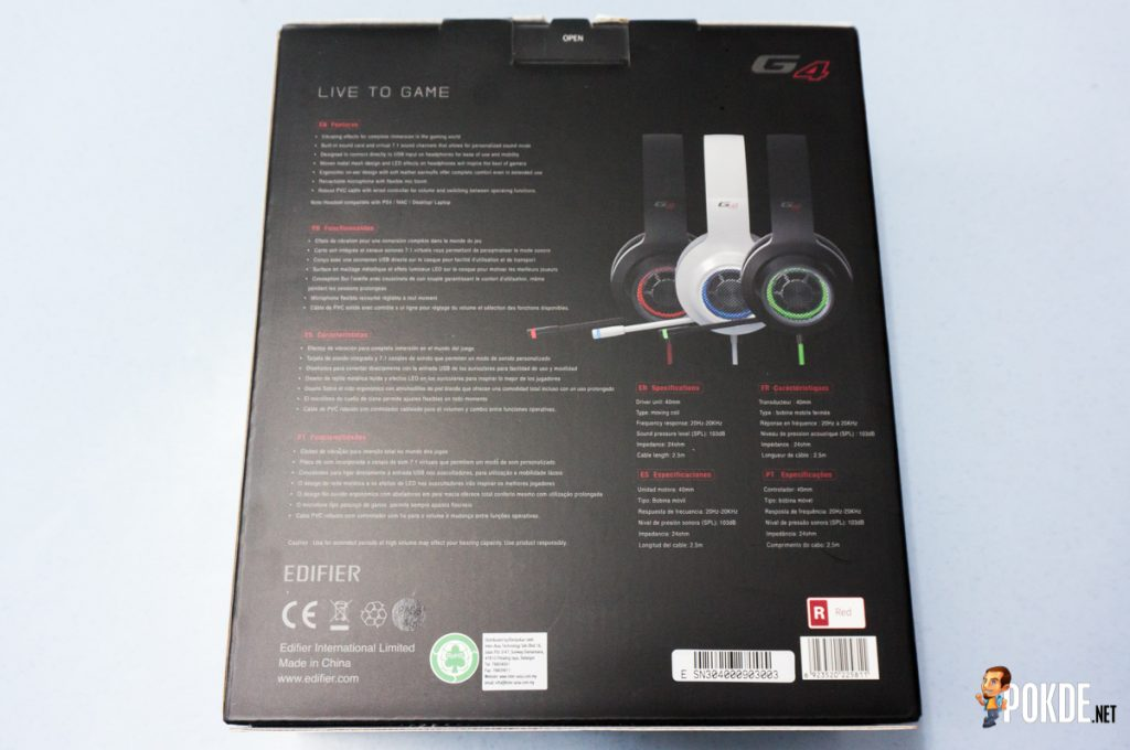 Edifier G4 7.1 gaming headphones review; bass or no bass? 29