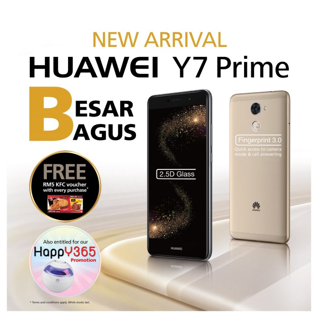 HUAWEI Aims Big With The Y7 - Set to release 7th of July! 21