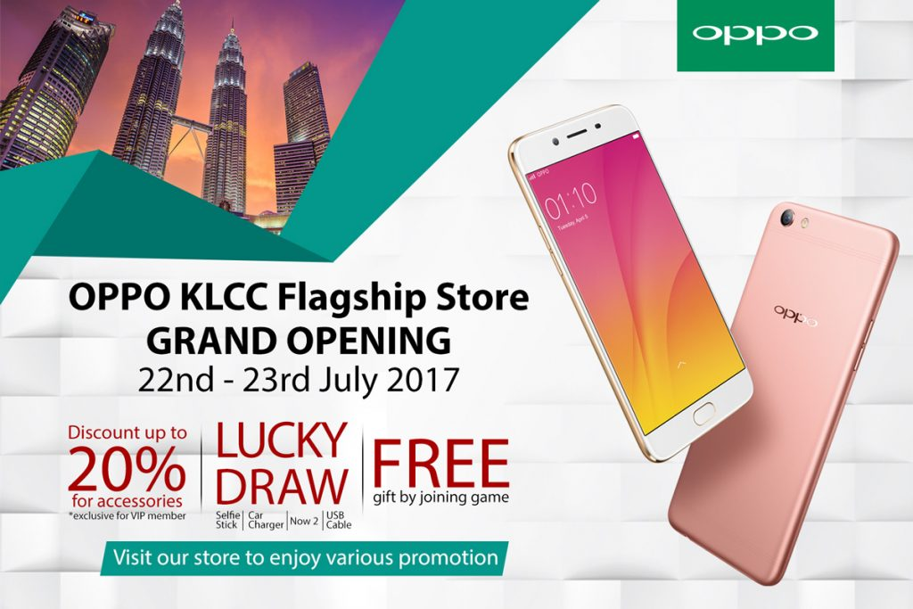 OPPO To Open Flagship Store - Coming this 22nd July 2017 22