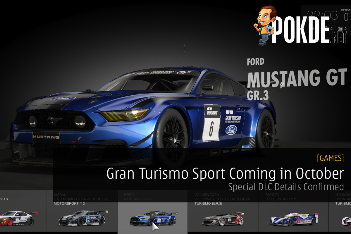 gran turismo sport coming in october special dlc details confirmed pokde. Black Bedroom Furniture Sets. Home Design Ideas