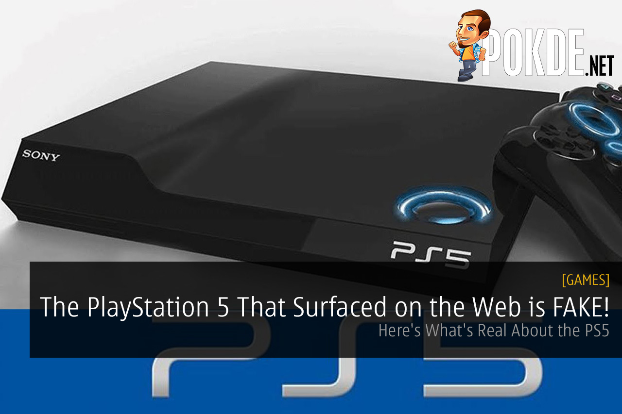The PlayStation 5 That Surfaced on the Web is FAKE! Here's ...