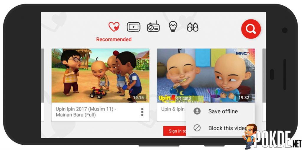 Youtube Kids Now Accessible In Offline Mode No More Complaints From The Kids Pokde Net