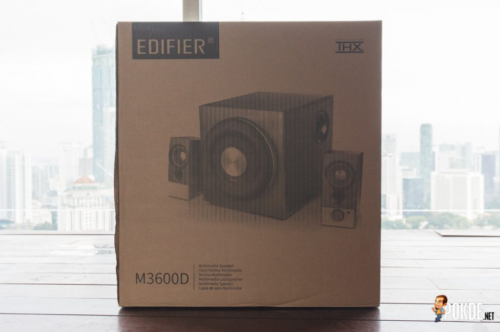 Edifier M3600D THX Certified 2.1 Multimedia Speakers review; An exceptional audio experience, guaranteed by THX 23
