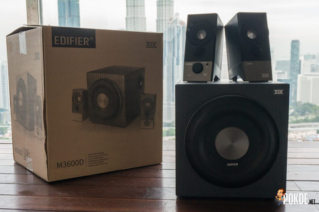 Edifier M3600D THX Certified 2.1 Multimedia Speakers review; An exceptional audio experience, guaranteed by THX 26