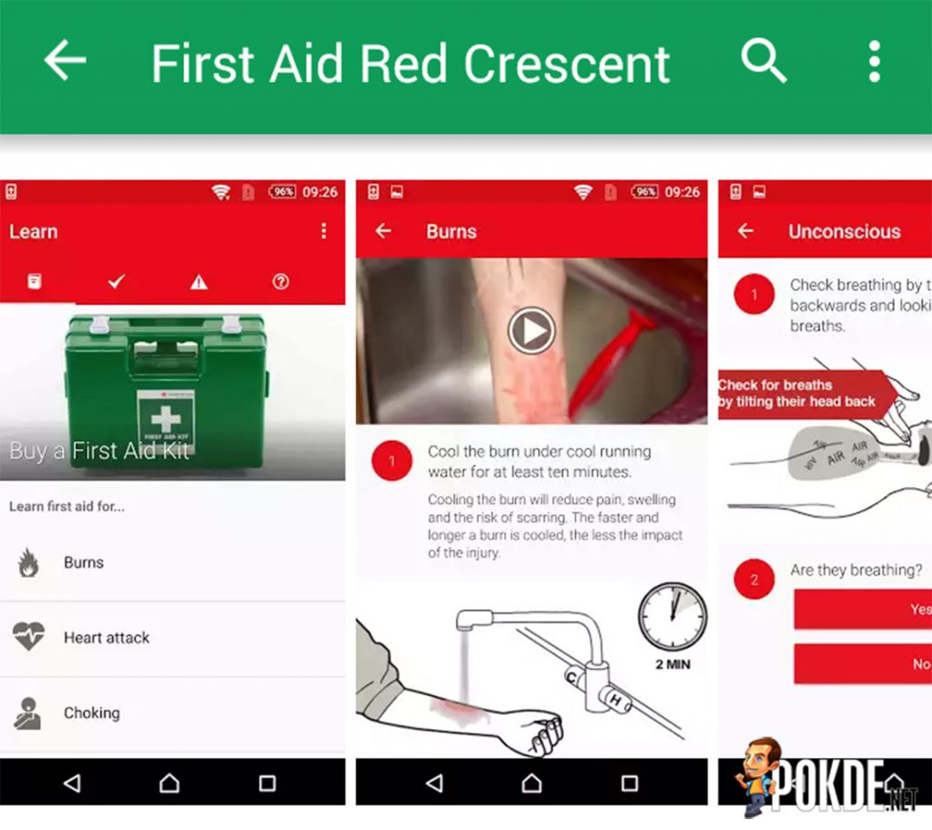 First Aid App launched by Malaysian Red Crescent Society; learn how to save a life through your smart device 17