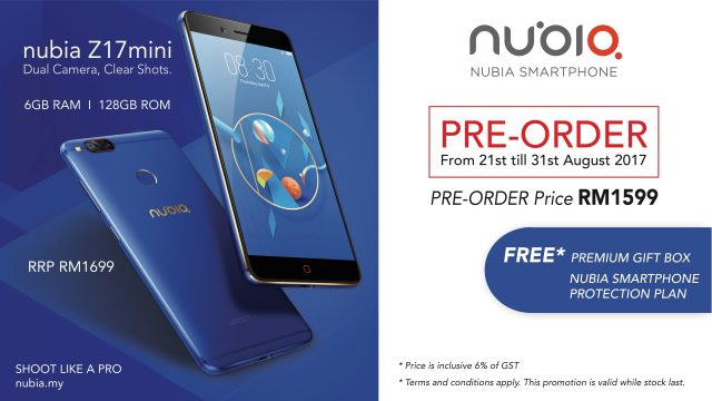 Nubia Z17 Mini is Now Up for Pre-Order! - RM500 worth of freebies for early birds 26