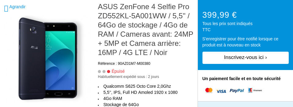 ASUS ZenFone 4 specifications leaked out before launch; second variant of the ZenFone 4 Max comes to light 26