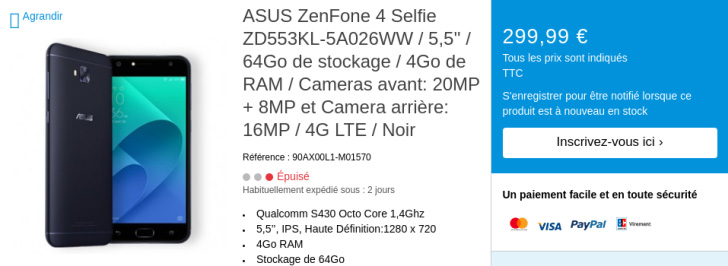 ASUS ZenFone 4 specifications leaked out before launch; second variant of the ZenFone 4 Max comes to light 25
