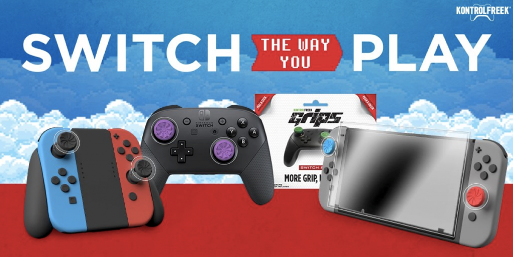 KontrolFreek Unveil Nintendo Switch Products - Available For Preorders Now! 19