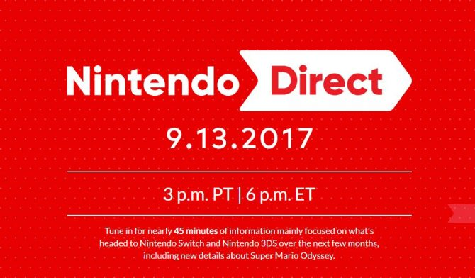 nintendo direct switch 3ds broadcast 45 minutes