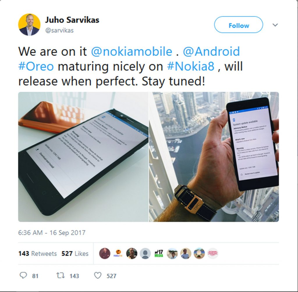 HMD Testing Oreo Update For Nokia 8 - Just Waiting For The 'Perfect' Moment 22