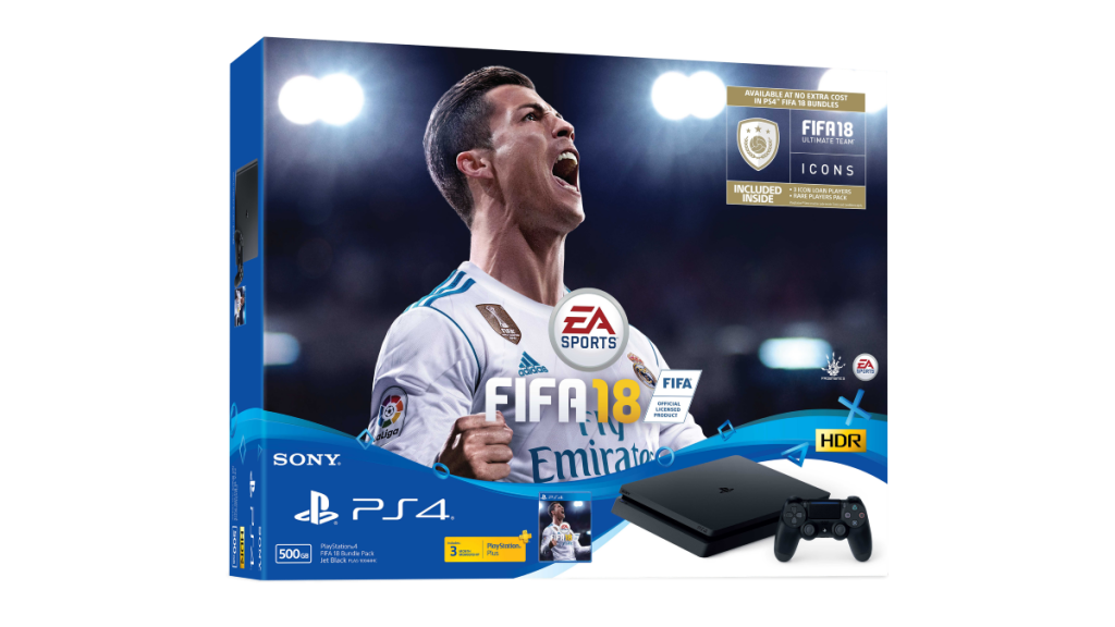 Sony To Launch Playstation 4 FIFA 18 Bundle Pack; FUT Rare Players And 3-Months PS+ Included! 21