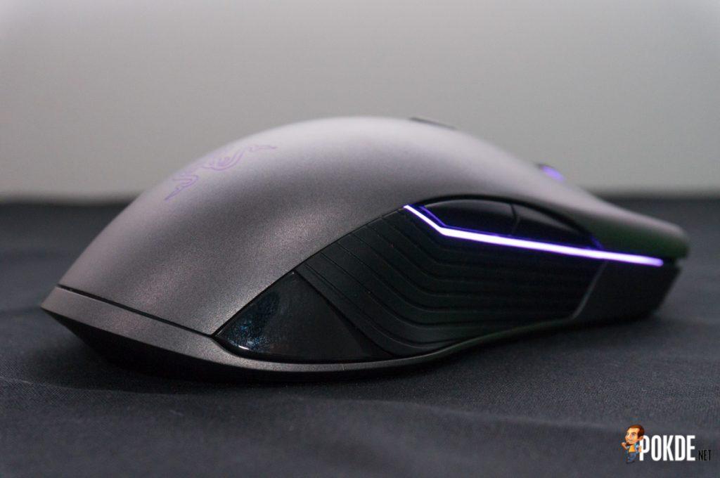 Razer Lancehead wireless gaming mouse review 34