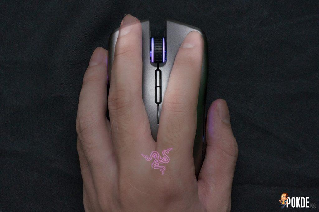 Razer Lancehead wireless gaming mouse review 25