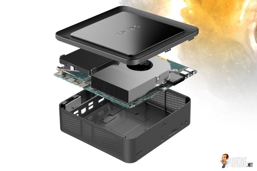 "ZOTAC announces ZBOX MI553 and ZBOX PI225; Mini PCs that really take the ""Mini"" part seriously 23"