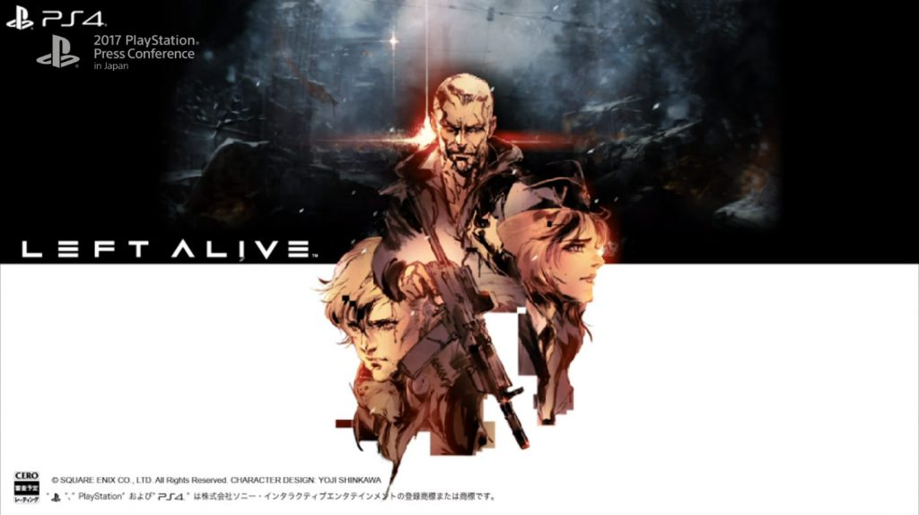 left alive square enix tgs 2017